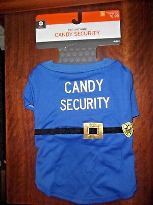 Halloween Dog Costume CANDY SECURITY Small