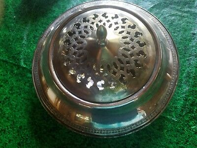 Antique N.S. Co. Sterling Silver covered Bowl Weighted