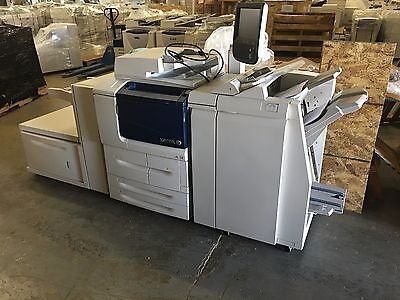 Xerox D95A Copier/Printer with Booklet Maker Finisher 100ppm low meter 214k