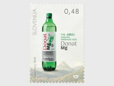H01 Postage Stamps Slovenia 2018 Donat Mg Natural Mineral Water MNH Mint
