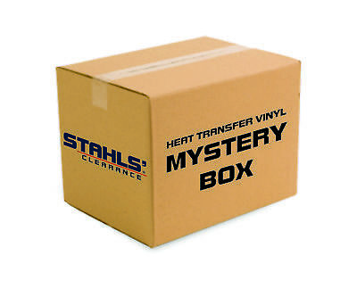 Craft Mystery HTV Box - Stahls' Clearance  Heat Transfer Vinyl - 25 HTV Pieces