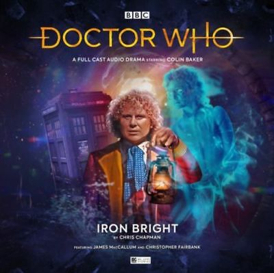 Doctor Who Iron Bright BBC by Chris Chapman Cd-audio Book Main Range #239