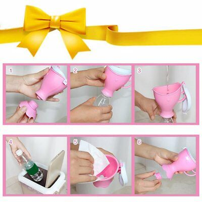Portable Urinal For Children Practical Potty Pee Camping Car Toilet Kid Unisex