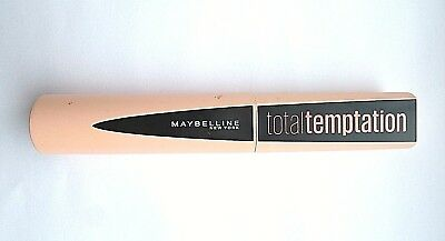 Maybelline New York Total Temptation Mascara - Black 8.6ml NEW AND SEALED
