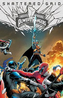 Mighty Morphin Power Rangers Shattered Grid #1 Holofoil Variant (29/08/2018)