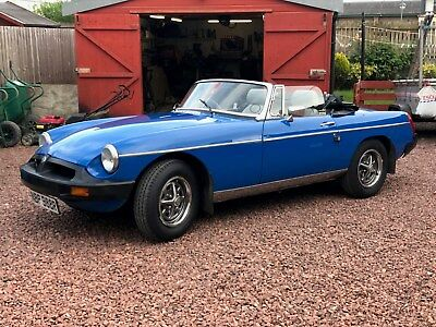 1977 MGB Roadster 7785k Miles MOTd Tax exempt Hard and Soft top classic MG