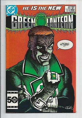 Green Lantern #196 : Near Mint 9.4 : First Print