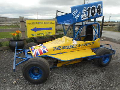 Brisca Micro F2 stock car complete ready to race with spares