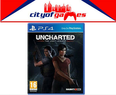Uncharted The Lost Legacy PS4 New & Sealed In Stock