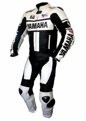 YAMAHA Best Quality Leather suit Cowhide Racing/Riding suit all size CE Approved