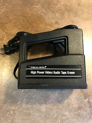 REALISTIC™ ~ High Power Video/Audio Tape Eraser (Model 44-233A)