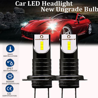 2x H7 110W LED Headlight Kit 26000LM Car Lamp Bulb CSP Chip Super Bright 6000K
