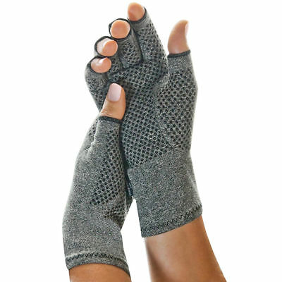 -NEW - Imak Active Gloves Compression Support Style Arthritis w/ Anti Slip Grip