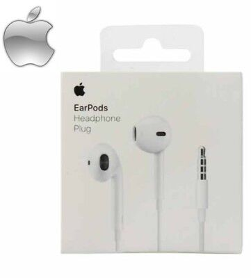 New OEM Original Apple EarPods-Headphones-for-iPhone-6-5-4-iPod-with-Remote-amp