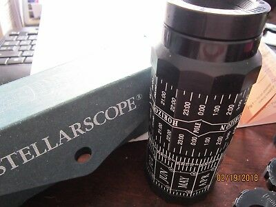 STELLARSCOPE Star Finder New w Instructions Bernard Vuarnesson w Lenses & parts