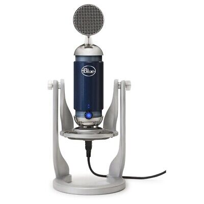 Blue Spark Digital Studio Condenser USB/Lighting i Pad Connections Microphone