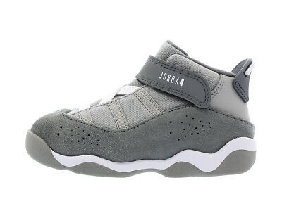 af9034f1df07bc Nike Toddler Jordan 6 Rings BT Shoes NEW AUTHENTIC Silver White Grey 323420-
