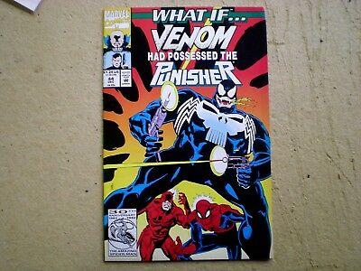 What If...? 44 (1992), Venom Had Possessed the Punisher, Spider-Man, Marvel gar