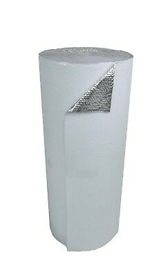 48 In. X 50 Ft White Single Reflective Insulation Radiant Barrier Energy Saving