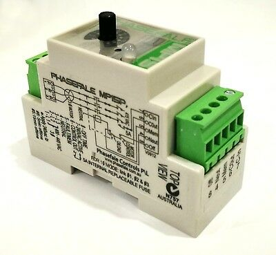 3 Phase Motor Protection Relay - Din Rail Mounted - Mp15P Phasefale - Rf640A