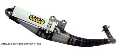 EXTREME-WHITE exhaust mbk booster 50 Arrow motorrad