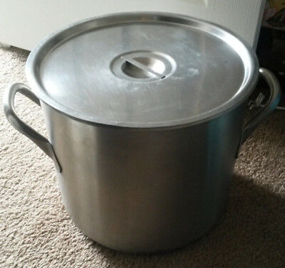 VOLLRATH 24 Qt Soup Stock Pot  Restaurant Commercial NSF Stainless Steel