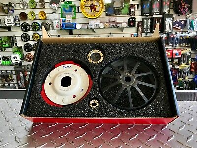 Scooter GY6 150cc High Performance TFC White/black Clutch and Clutch Bell kit