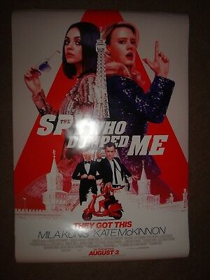 The Spy Who Dumped Me 27x40 Original Theater (DS) Movie Poster Final 2018