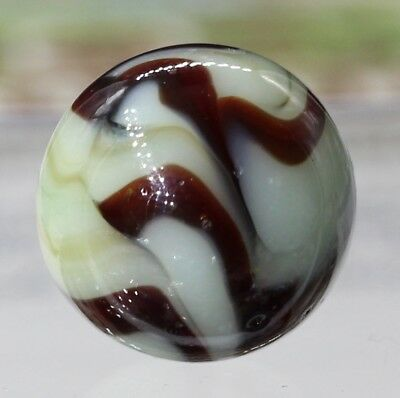 "Lovely Vintage Alley Agate Swirl? Marble .65"" NM+"