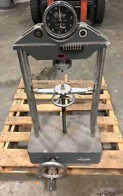 Dillon Benchtop Lab Dynamometer Pull Tension Stress Tester 10,000 LB. Capacity