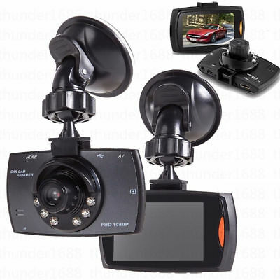 "HD 2.2"" LCD 1080P Car DVR Vehicle Camera Video Recorder Dash Cam Night Vision KL"
