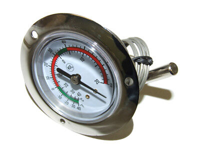 Coolroom -40 ~ +20 Degrees Celcius Thermometer 3'' Dial With Probe -  Tmt100