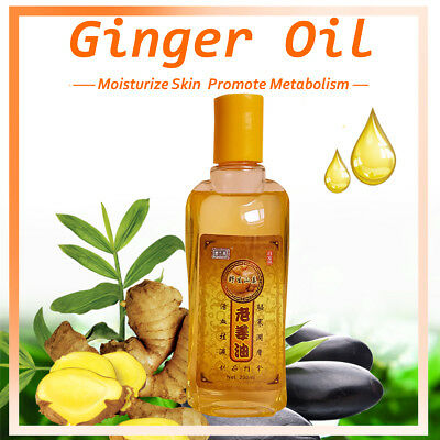 2019 New Plant  Lymphatic Drainage Ginger Oil [ 100% Natural ] 230ML