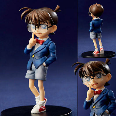 Detective conan blue suit PVC figure cartoon doll hot toy gift new
