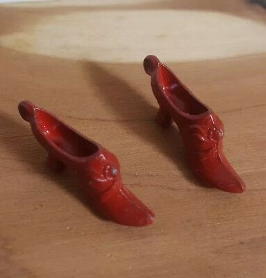 Cracker Jack Vintage Toy Prize Pair of Shoes