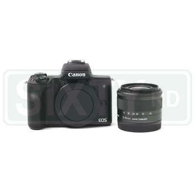 NEW Canon EOS M50 Mirrorless Digital Camera with 15-45mm Lens (Black)
