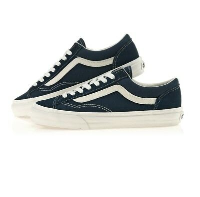 2782d4eae5 Vans Style 36 Shoes Suede Dress Blue Marsh Navy Sneakers VN0A3DZ3RFL US 11.5