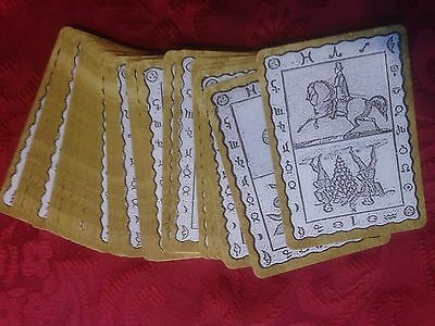 Up Side Down Lenormand ( Lenormand cards, tarot, oracle, fortune telling )