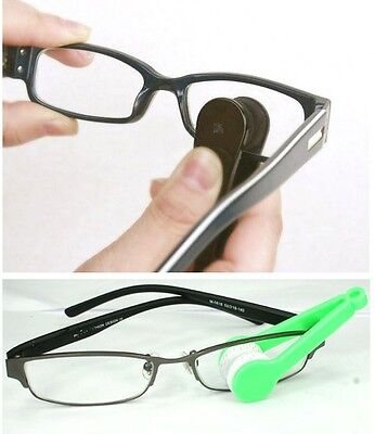 5Pcs/Lot Microfiber Sun Glasses Eyeglass Spectacles Cleaning Brush Cleaners Set