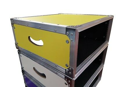 5 Star Cases UK Made 10mm Professional Touring 550mm Bodied Racks 4u or 6u