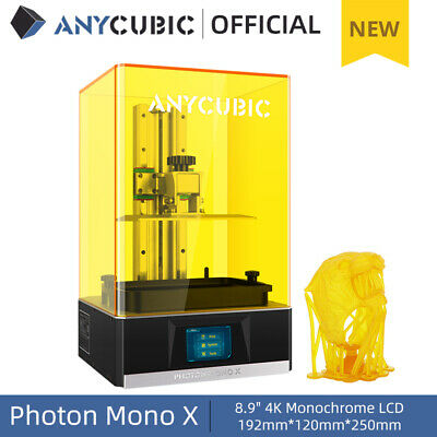 ANYCUBIC Photon SLA Resin 3D Printer UV LCD Light Cure Assembled +500g/1L Resin