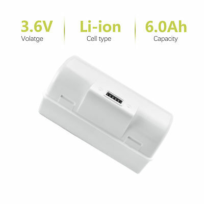 6000mAh Replacement Battery for iRobot Braava Jet 240 Mopping Robots BC674 MP