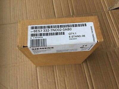 100% NEW SIEMENS 6ES7 332-7ND02-0AB0 in box 6ES7332-7ND02-0AB0
