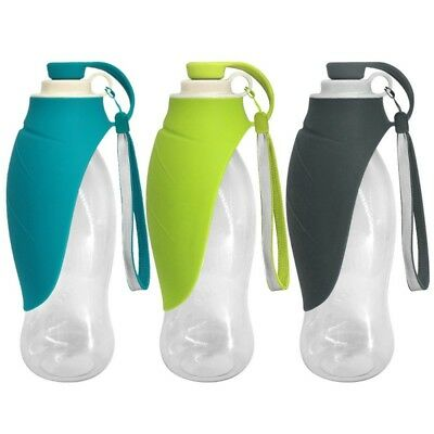 Dog Travel Water Bottle Portable Collapsible Drink Bottle Pet Dispenser Feeder
