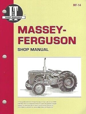 Tractor Workshop Manual for MF35 (3 and 4 Cylinder) Tractors