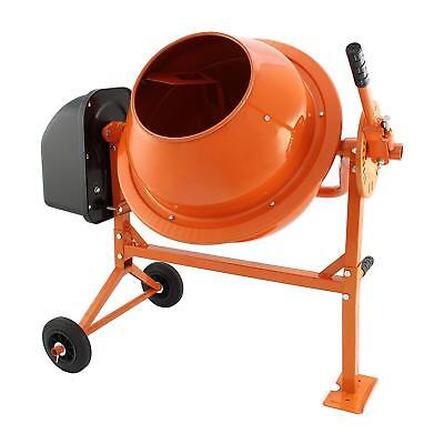 T-Mech 70 L Electric Cement Mixer 250W Portable Mortar Concrete Mixing Machine