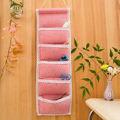 Waterproof Multi-layer Wall Hanging Storage Bag Case Home Decorations N7