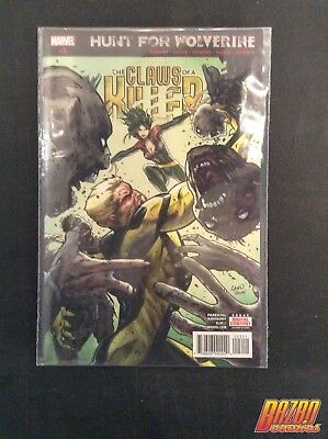 The Claws of a Killer #2 Hunt for Wolverine 2018 Marvel Comics