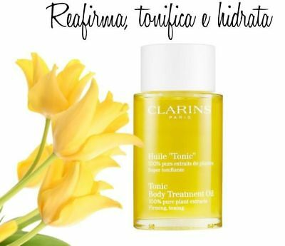 """CLARINS Tonic Body Treatment Oil, Huile """"Tonic"""", 30ml, Brand New genuine firming"""