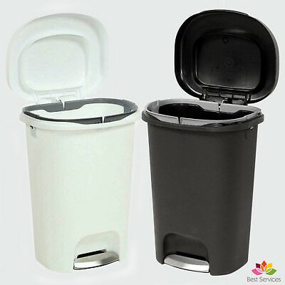 Step On Trash Can 13 Gal Rubbermaid Kitchen Office Waste Basket